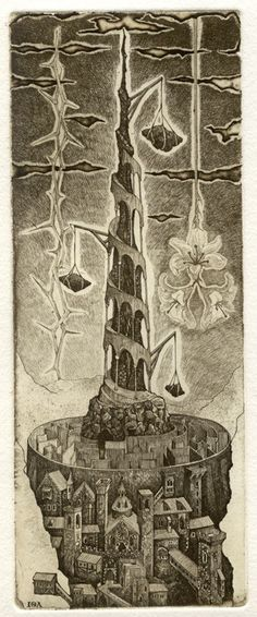 Iona Tarot 16 - Der Turm