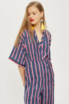 4dcbada7cf Striped Jacquard Jumpsuit