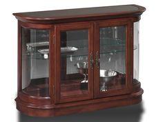 Jasper Cabinet Living Room Curio Console P605-00 - Maynard's Home Furnishings - Piedmont and Belton, SC