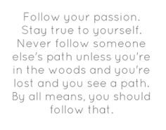 follow your passion quote - Google Search