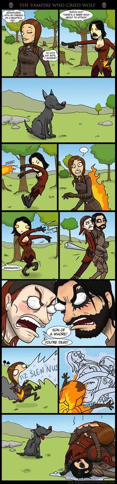 I love Serana, but i hate her spells