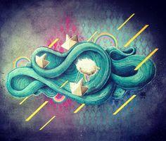 chuva amarela ou felicidade paralela ✌️ #painting #stencil #atelier #paperboat #cuscorebel #art #brazil