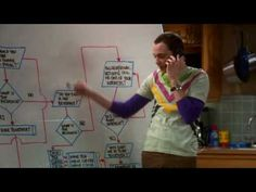 Season 2, episode 13    Sheldon displays his friendship algorithm as a flow chart, and tests it.    (this belongs to CBS, not me, I'm just enlightening you with Sheldon's awesomeness)