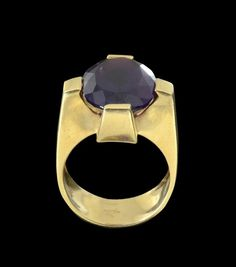 14K GOLD RETRO ITALIAN RING : Lot 83
