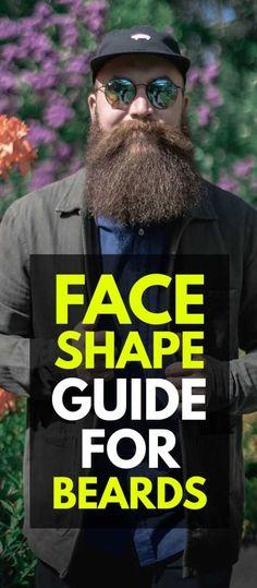 Face Shape Guide For Beard Mohawk Hairstyles Men, Beard Look, Beard Styles For Men, Face Shapes, Mustache, Photoshoot, Hair Styles, Beards, Boys