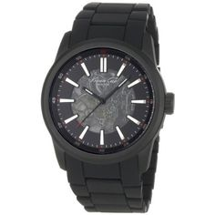 Kenneth Cole Kc9004 Skeleton Dial Mens Watch | Skeleton Watches