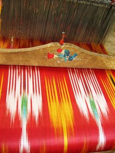 Decorative Weaving, Uzbekistan
