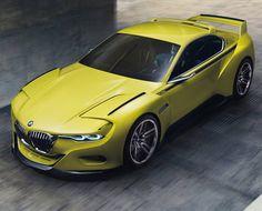 CONCEITO BMW 3.0 CSL HOMMAGE É REVELADO