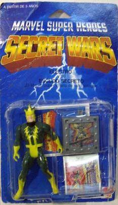 Marvel Secret Wars  - Electro (Mint On Resealed Card)