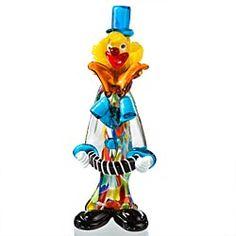 Blown-Glass-Accordion-Clown-of-Murano- 3 in set