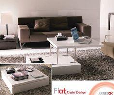 Il #TavolinoFlat by #OZZIODESIGN possiede aspetto estetico e finiture esclusive. Flat è un #tavolino a doppia funzione. La possibilità di avere piani di appoggio a due altezza differenti che lo rendono unico nel suo genere. Un'alternativa per creare nel vostro #living eleganza e allo stesso tempo movimento. http://arredok.com/tavolino-trasformabile-flat-ozzio-design.html — presso www.arredok.com.