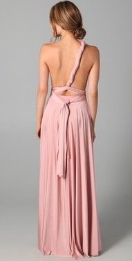 Twobirds convertible dress- l love dresses or clothing that accentuate the back!! So SEXY!!