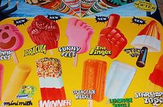 Stay cool with plenty of ice lollies!