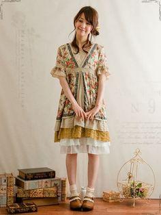 Mori girl style--I like!