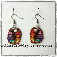 Seed Bead Crafts, Seed Bead Projects, Diy Jewelry Projects, Seed Bead Jewelry, Bead Jewellery, Seed Bead Earrings, Beading Projects, Jewelry Crafts, Beaded Jewelry