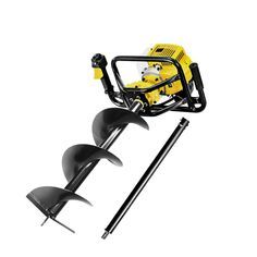 Giantz 88CC Post Hole Digger Petrol Auger Drill Borer Fence Earth Power 300mm  Only AUD$411.18!   Say good bye to backbreaking manual post boring and digging and welcome to the technological breakthrough GIANTZ 88cc Petrol Post Hole Borer/Digger.    The GIANTZ Post Hole Borer/Digger is geared up to do simple post boring as well as serious deep hole boring. Its class-leading 88cc 3kW 2-stroke petrol engine revs up to 9000rpm to get your hole dug out with precision and ease. The advanced vert