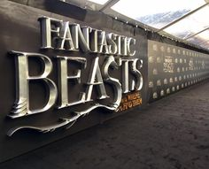 The Fantastic Beasts movie premiere and Press Conference in New York was awesome tonight! Our design team at 15|40 used carefully carved foam and fine metalic paint to achieve this stunning new look on the plush black carpet. #EventProduction #NewYork #premiere #1540Productions  Line 8  Photography - http://ift.tt/1HQJd81