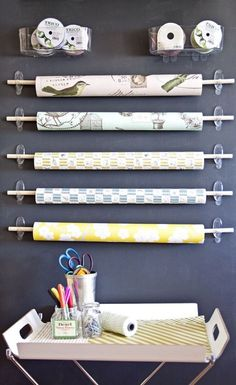 14 Ways to Use Command Hooks To Organize Your Home Office Or Craft Room. DIY Home Sweet Home: 14 Ways to Use Command Hooks To Organize Your Home Office Or Craft Room. 14 Ways to Use Command Hooks To Organize Your Home Office Or Craft Room. Craft Room Storage, Storage Ideas, Ikea Storage, Gift Wrap Storage, Ribbon Storage, Vinyl Storage, Book Storage, Small Storage, Craft Rooms