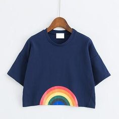 Rainbow Crop Top Rainbow Crop Top 44c9f8dc845d4
