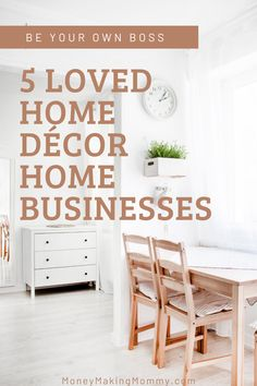 If you love home decor and nesting - and want to earn an extra income at home, or a side gig you can be passionate about -- these direct sales companies might offer the perfect opportunity and start up for you. Check out this list of most loved home decor home business opps. #workathome #homebusiness #homedecor #sidehustle Direct Sales Companies, Work From Home Companies, Work From Home Jobs, Earn From Home, Make Money From Home, Elegant Home Decor, Elegant Homes, Home Websites, Home Blogs