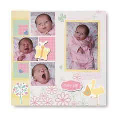 Fabulous Baby Girl Arrival Layout Idea