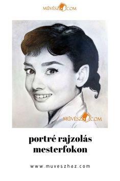 Portré rajzok lenyűgözőek tudnak lenni. Jobb agyféltekés rajzolás technikájával TE is meg tudod ezt tanulni. Hihetetlen, de ez lehetséges. Audrey Hepburn, Movies, Movie Posters, Art, Art Background, Films, Film Poster, Kunst, Cinema