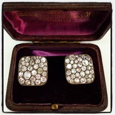 Our gorgeous cobblestone earrings covered from edge to edge with vintage diamonds set in 18kt yellow gold. No two earrings are exactly alike, which makes them even more special. A Single Stone hand crafted original. (213) 892-0772 www.singlestone.com #diamonds #dtla #cobblestone #vintage #artisan #handcrafted #handmade #artist #gold #18kt #bling #cocktail