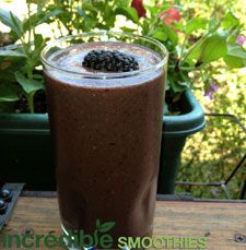 Blackberry-Cherry Green Smoothie Recipe with Vanilla - Incredible Smoothies