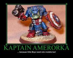 The most patriotic ork