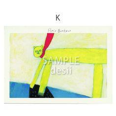 ポストカード5枚セット用の絵柄です。K商品はSAMPLE desiiの文字がないものになります。|ハンドメイド、手作り、手仕事品の通販・販売・購入ならCreema。