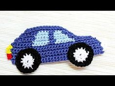 How To Make A Crocheted Car Applique - DIY Crafts Tutorial - Guidecentral, My Crafts and DIY