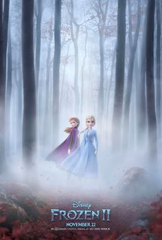 Frozen 2 Poster & Trailer Coming Tomorrow - sandwichjohnfilms Upcoming Disney Movies, Upcoming Movie Trailers, Pop Culture News, Disney Frozen 2, Frozen Princess, We Movie, Idina Menzel, Official Trailer, Disney Pictures