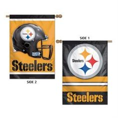 Pittsburgh Steelers Double-Sided 28'' x 40'' Banner