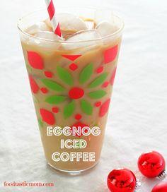 100 calorie Eggnog Iced Coffee