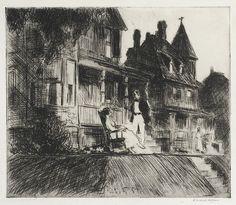 Summer Twilight ~ by Edward Hopper ~Repinned Via John McIntosh