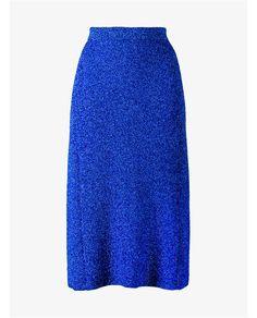 BALENCIAGA Glitter Knit Midi Skirt. #balenciaga #cloth #