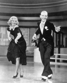 shall be dance Ginger  and Astaire,