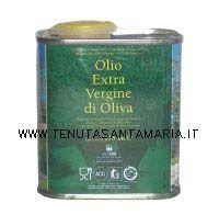 Olio extravergine di oliva in lattina banda stagnata da 175 ml campione assaggio