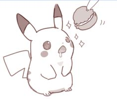 PikaYum. Pikachu (by mochi./Mochi-san, Pixiv Id 1049120)