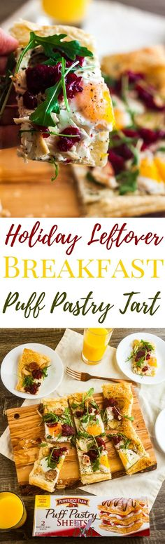 #Ad #inspiredbypuff Holidays are always filled with leftovers. Making a delicious Holiday Leftover Breakfast Tart with Pepperidge Farms® Puff Pastry Sheets is as simple to make as it is to eat! via @ijustmakesandwi