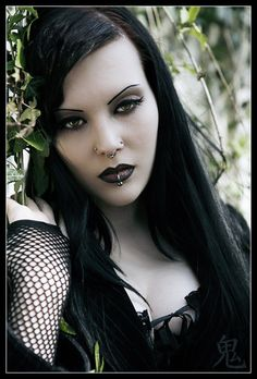 Lovely Goth girl