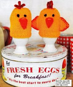 Mr. and Mrs. Chirp Egg Cosies Free Knitting Pattern PDF file http://lynnesknits.weebly.com/uploads/8/4/3/2/8432354/mr__mrs_chirp_egg_cosies_2012.pdf