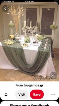 Diy Wedding Decorations, Bridal Shower Decorations, Wedding Centerpieces, Wedding Table, Rustic Wedding, Table Decorations, Wedding Ideas, Centre Pieces, Event Decor