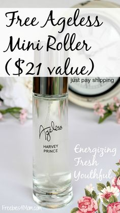 Want to try a new fragrance? Use coupon code BEAUTY4MOM to try it for FREE (instead of $21) & just pay shipping (ends April 25)  Ageless by Harvey Prince http://freebies4mom.com/ageless AD
