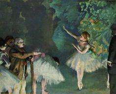 Ballet Rehearsal, 1875, Edgar Degas