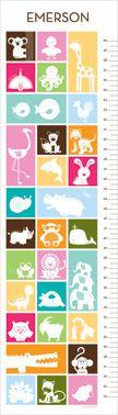Animal crackers growth chart from www.petitelemon.com