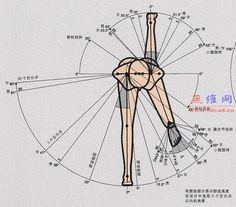 人体工程学图片资料_无维网