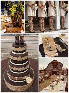 Rustic Western Wedding Ideas From Hotref Com Westernwedding Countrywedding Cowboy