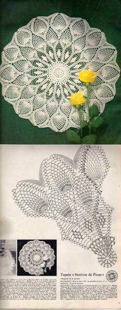 World crochet: Napkin 315