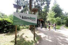 De entree van Klimbos Veluwe.
